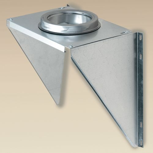 "SuperPro JSC8AWS 8"" Galvanized Steel Adjustable Wall Support"