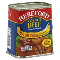 Hereford Low Sodium Corned Beef, 12 oz