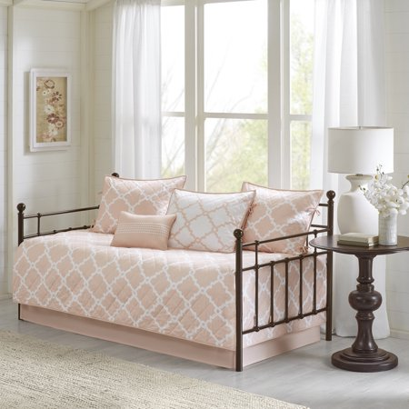 Halo Daybed Bedding - Home Essence Becker 6 Piece Reversible Printed Daybed Set