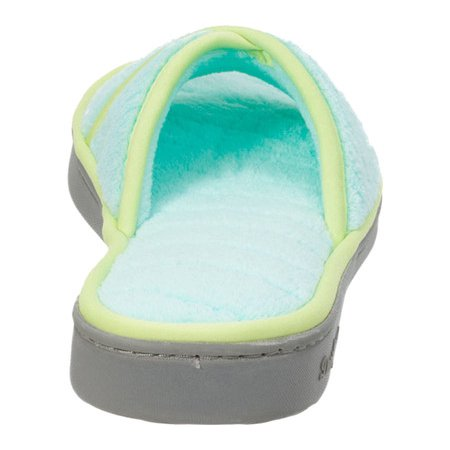 Women's Dearfoams Microfiber Terry Open Toe Slipper