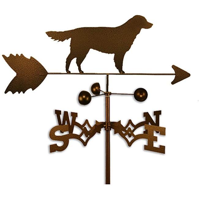 SWEN Products Inc Handmade Golden Retriever Dog Copper Weathervane by Overstock