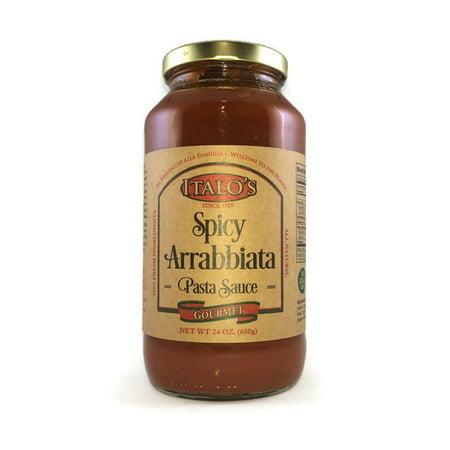 Italo's Gourmet Real Italian, Spicy Arrabbiata Pasta Sauce (Gourmet Pasta Sauce)