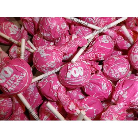 Strawberry Tootsie Pops 30 Pops