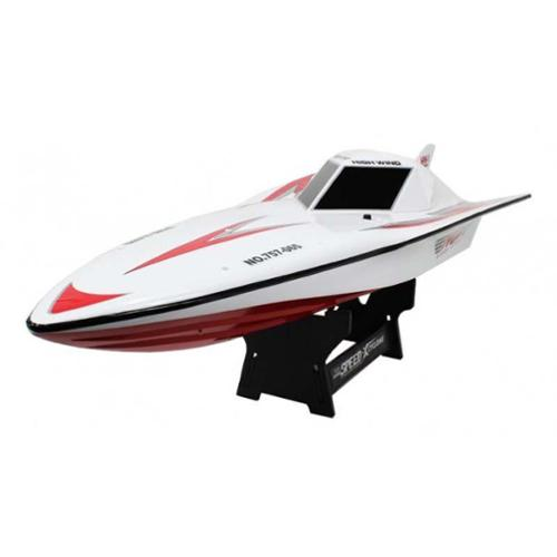 """29.5"""" Large Radio Control R C High Wing Racing Boat Ship Watercraft HWC7 Red (Gift Idea) by"""