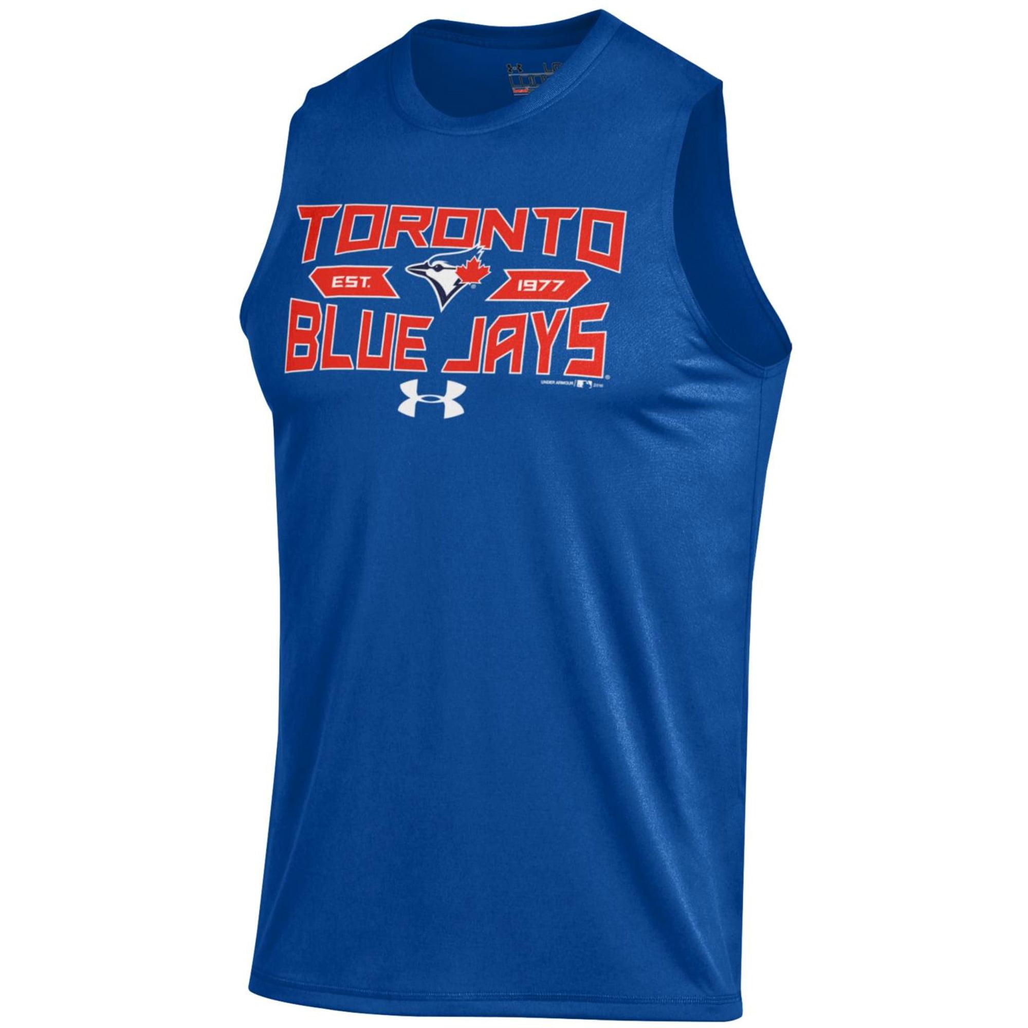 Toronto Blue Jays Under Armour Tech Performance Sleeveless T-Shirt - Royal