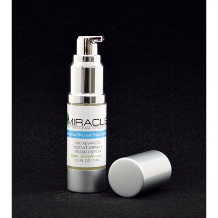 Miracle Nutritional Products - CBD Advanced Instant Wrinkle Eraser Serum