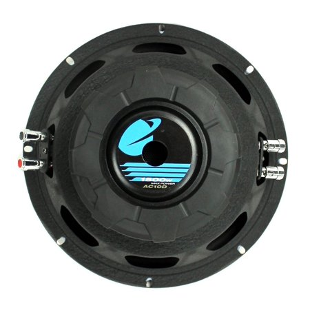 Plate Audio (Planet Audio Anarchy10 inch DUAL Voice Coil (4 Ohm) 1500-watt Subwoofer)