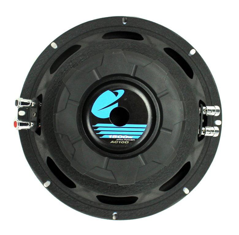 Planet Audio Anarchy10 inch DUAL Voice Coil (4 Ohm) 1500-watt Subwoofer