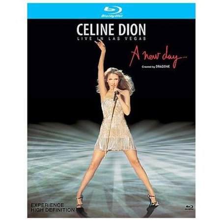 Sony Music Dion C-live In Las Vegas-new Day [br-dvd]
