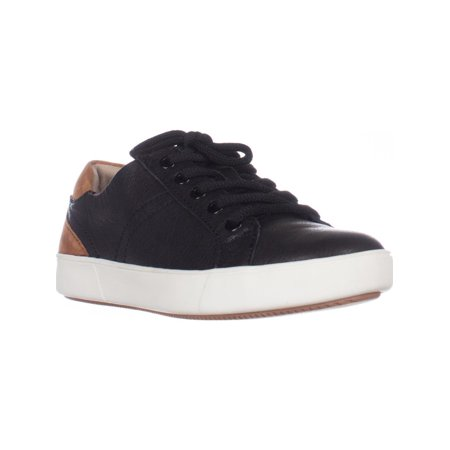 Womens naturalizer Morrison Low Rise Fashion Sneakers, Black Leather
