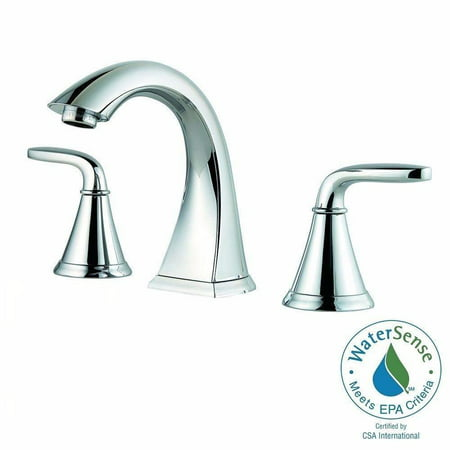 Pfister LF-049-PDCC Pasadena 8 in. Widespread 2-Handle Bathroom Faucet in Polished Chrome