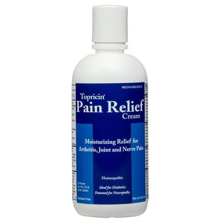 Pain Relief Cream 8oz Bottle -
