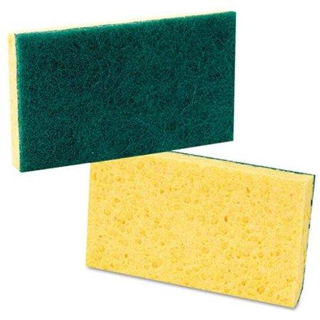 Boardwalk Medium Duty Scrubbing Sponges, 20 count
