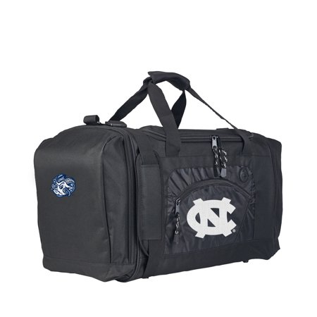 "NCAA UNC Tar Heels ""Roadblock"" 20""L x 11.5""W x 13""H Duffel - Tar Heels Gym Bag"