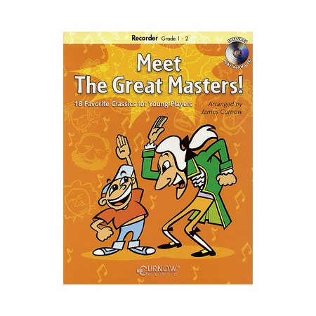 Instruments Curnow Play Along Book - Curnow Music Meet the Great Masters! De Haske Play-Along Book Series Softcover with CD
