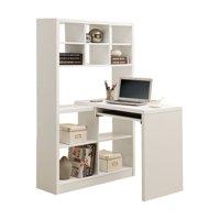 Scranton & Co Left and Right Facing Corner Desk in White