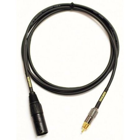 Mogami Gold Xlrm Rca 06 Xlr Male To Rca Patch Cable 6 Feet