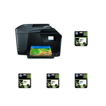 Hp Officejet Pro 8710 Aio Photo Printer With 952 Xl Black And Tri