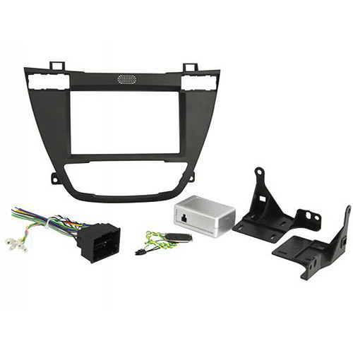 Scosche GM5203B - 2011 Buick Regal Double DIN and DIN with Pocket Dash Kit with Radio Replacement Interface