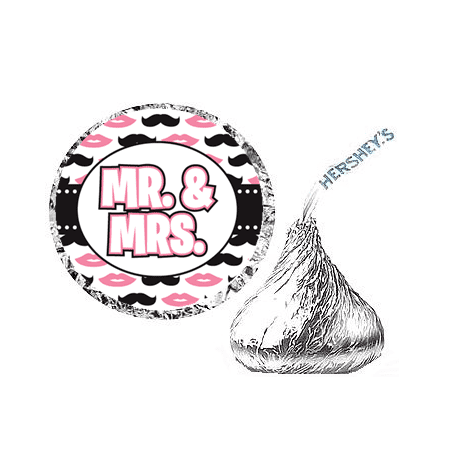 216ct Music Notes  Party Hershey's Kisses Stickers / Labels (Music Note Party Theme)