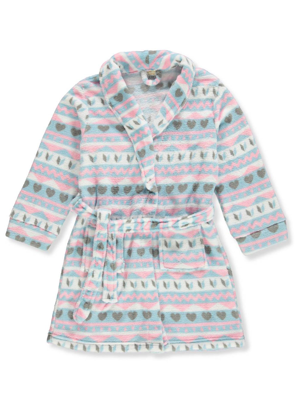 Sweet N Sassy Girls' Plush Robe