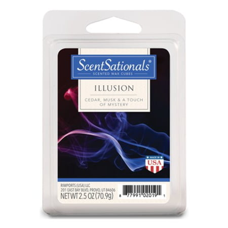 ScentSationals 2.5 oz Illusion Scented Wax Melts ()