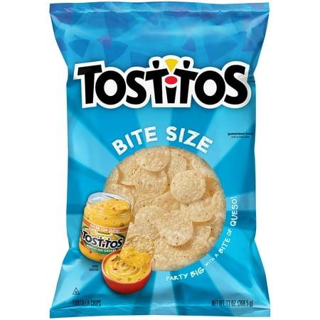 Tostitos Bite Size Tortilla Chips, 13 oz Bag