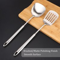 Stainless Steel Cooking Utensil Set Heat Resistant Non-Stick Turner Cookware Baking Kitchen