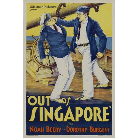 Out of Singapore POSTER Movie (27x40) (Halloween Jobs Singapore)