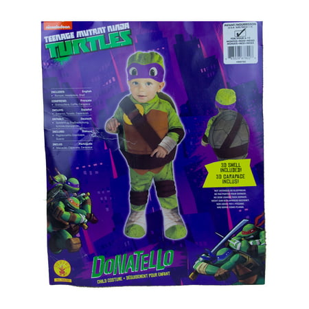 Rubies Donatello Ninja Turtles Infant Costume Costumes - 6-12 Months