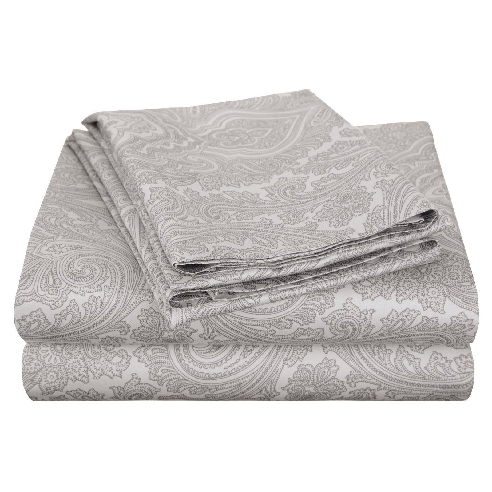 superior 600 thread count luxury cotton italian paisley sheet set walmartcom