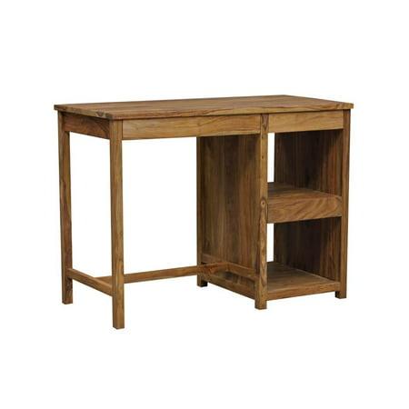 Avalon Mid-Century Modern Sheesham Wood Desk