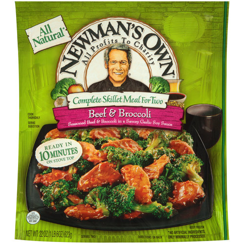 Newman's Own Complete Skillet Meal For Two Beef & Broccoli, 22.0 OZ