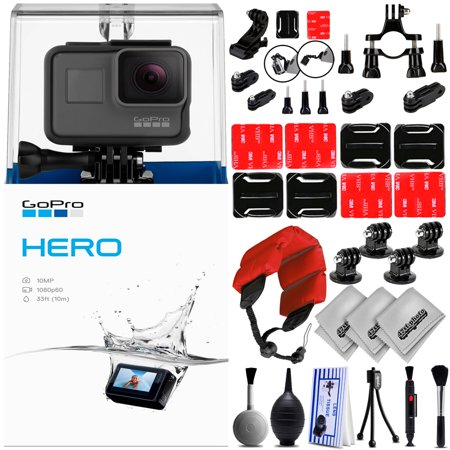 GoPro Hero 2018 Digital Camera w/ 30PC Sports Action Bundle