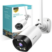 HeimVision HM311 2K outdoor Security Camera,Bullet Camera with Motion Detection,Message Alert, MicroSD/Cloud Storage, Weatherproof