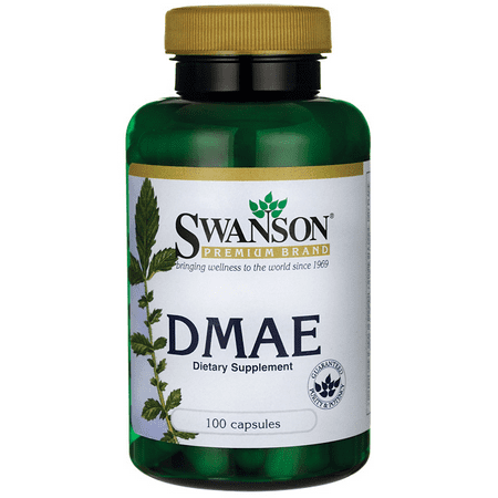 Dmae Dimethylaminoethanol 100 Tablets - Swanson Dmae Complex 130 mg 100 Caps