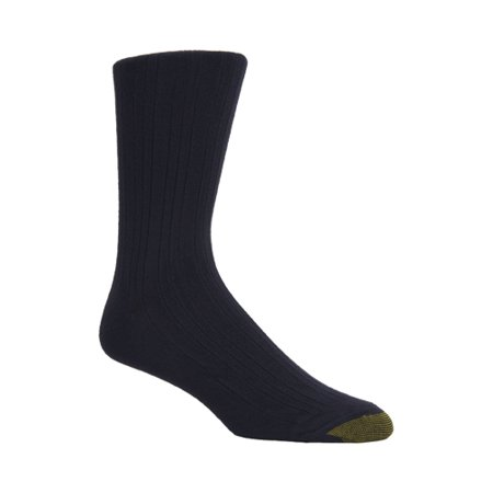 (Men's Milan with Comfort Stretch Top Crew Socks, 3 Pack)