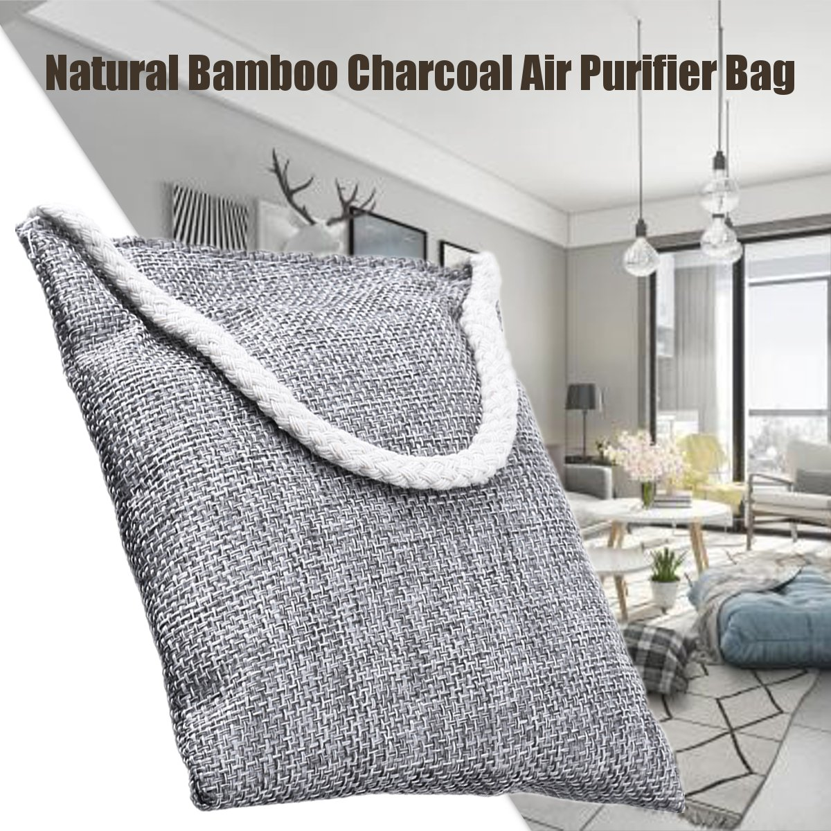 Meigar 1Pack Natural Air Purifying Bags Odor Eliminator ...