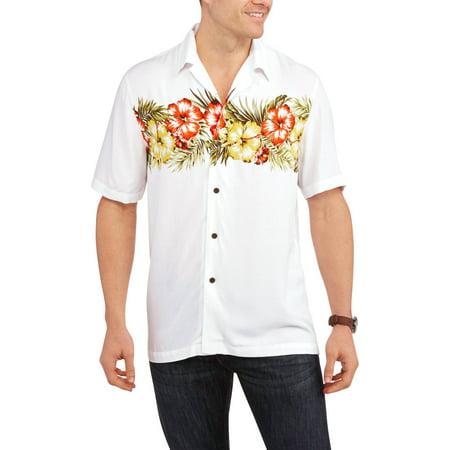 George tall men 39 s rayon hawaiian shirt for Mens rayon dress shirts