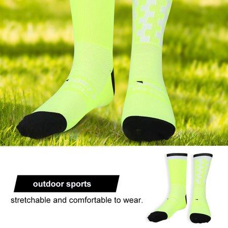 Yosoo Chaussettes anti-transpiration douces et respirantes pour garder au chaud en plein air, chaussettes de basket-ball, chaussettes d'équitation et de sport - image 6 de 7