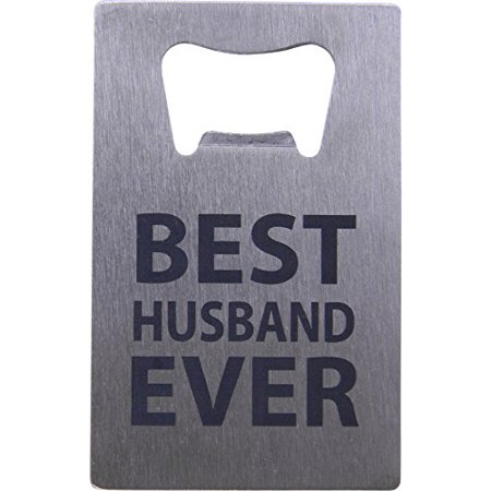 Best Husband Ever Credit Card Bottle Opener - Great Gift for ...