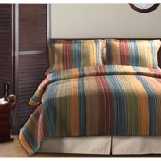 Global Trends Boho Stripe Reversible Quilt Set