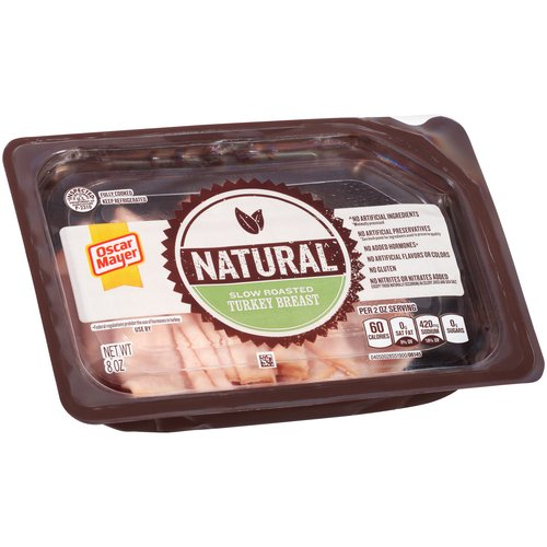 Oscar Mayer Natural Slow Roasted Turkey Breast, 8 oz