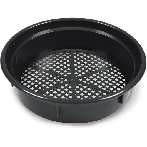 "Classifier Sifter Pan, 14"", Black"