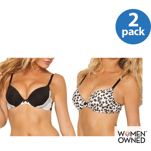 Smart & Sexy - Lace Extreme Push-Up Bra 2-Pack