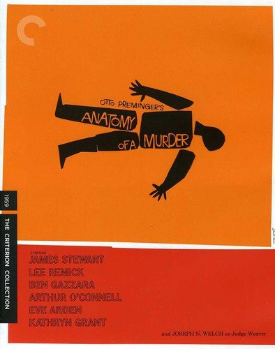 Anatomy of a Murder (Criterion Collection) (Blu-ray) by CRITERION