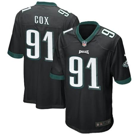sale retailer a0f6c 10047 Fletcher Cox Philadelphia Eagles Nike Youth Alternate Game Jersey - Black