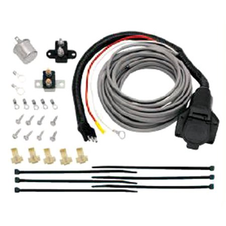 Pre-Wired Brake Mate Kit Adapter, 7-Way Flat Pin Connector with ...