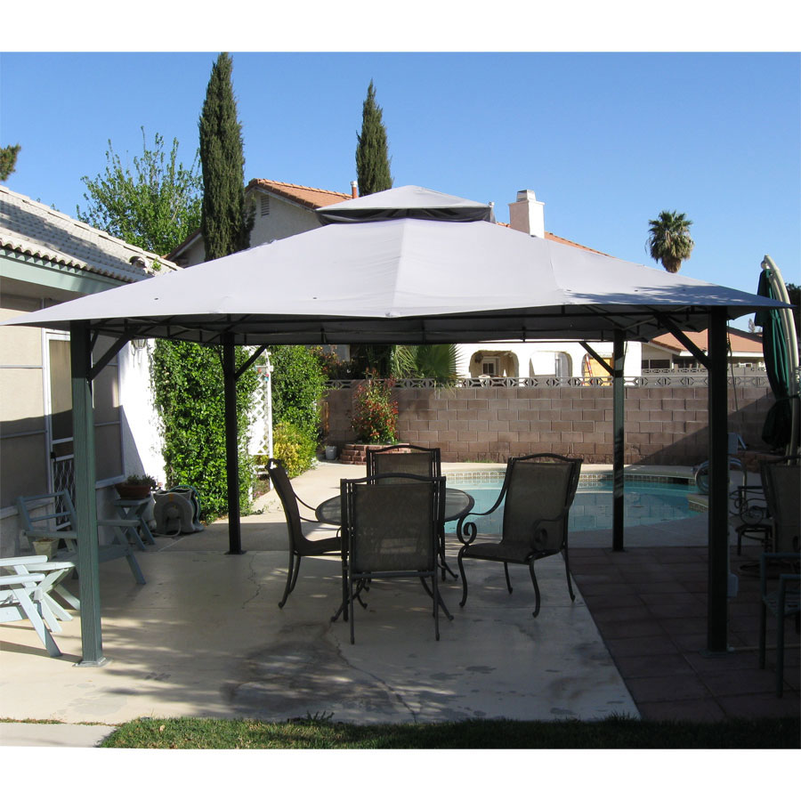 Garden Winds Replacement Canopy Top for Home Depot 14x14 Gazebo & Garden Winds Replacement Canopy Top for Home Depot 14x14 Gazebo ...