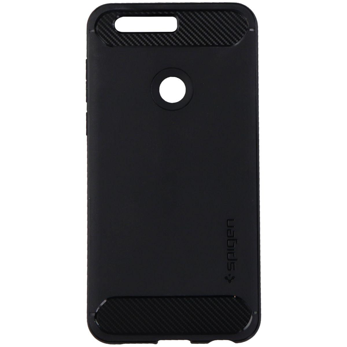 Spigen (L09CS20884) Rugged Armor Phone Case for Huawei Honor 8 Smartphone- Black - image 1 of 1